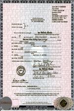 Heiratsunterlagen, amtliche Dokumente, Urkunden aus USA online bestellen